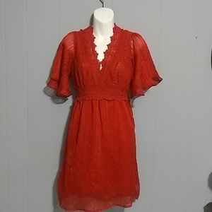 Flying Tomato red dress Size S